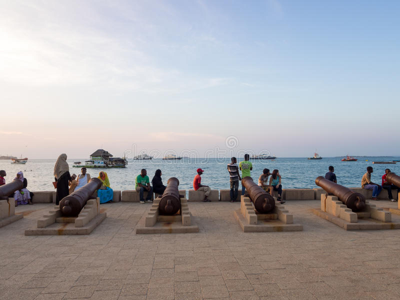 Ville en pierre, Zanzibar photographie stock libre de droits