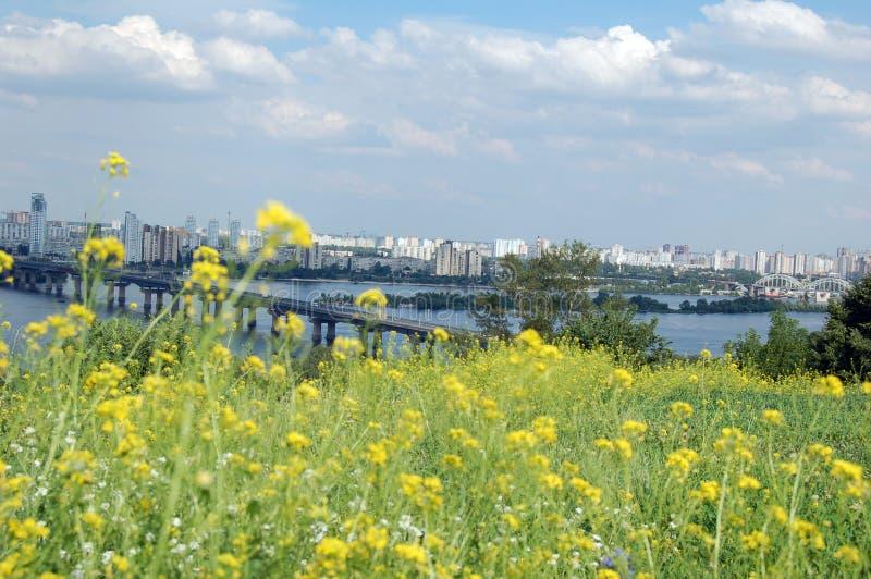 Ville européenne Kiev 4 photo libre de droits