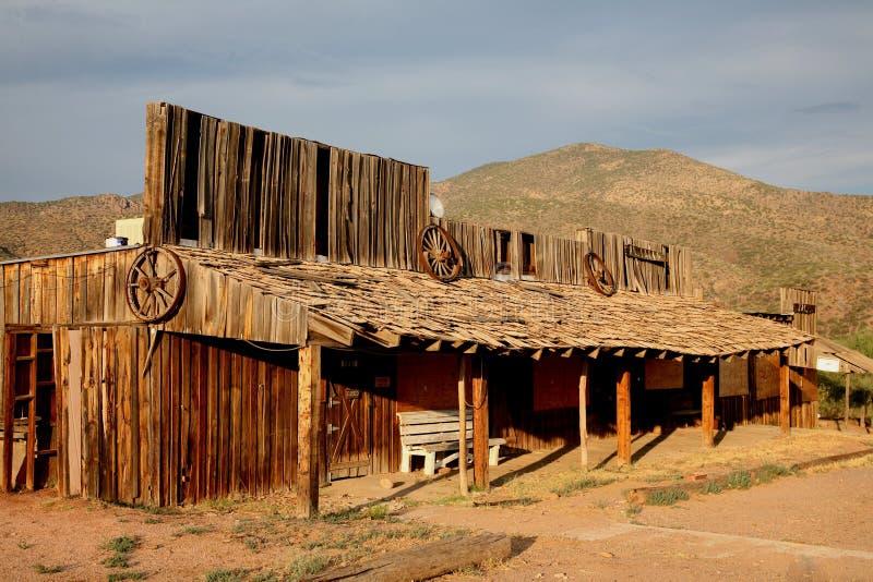 Ville fantôme de l'Arizona images stock