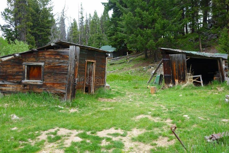 Ville fantôme - Garnet Montana photographie stock