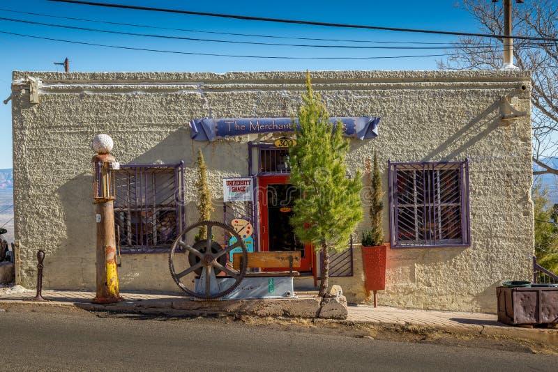 Ville fantôme historique de Jerome Arizona photos libres de droits
