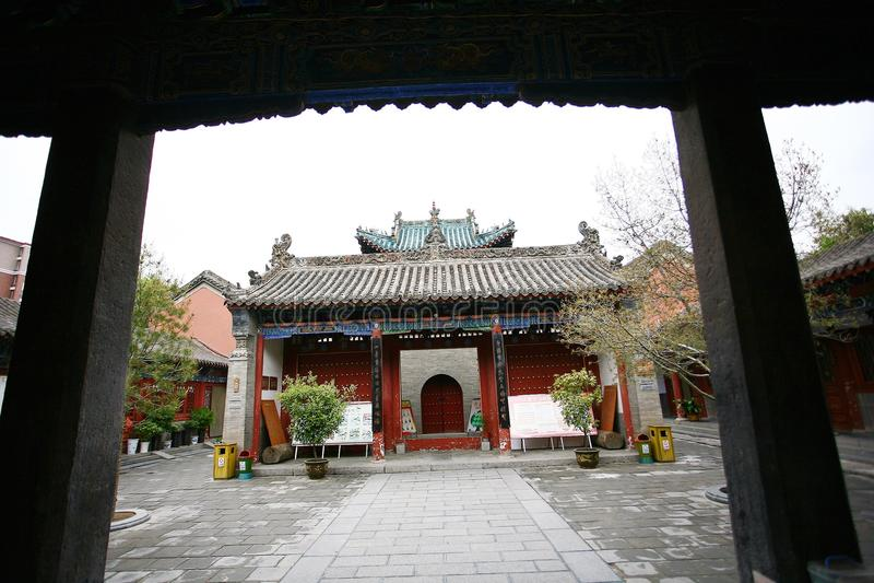 Ville God& x27 ; temple de s, Zhengzhou images libres de droits