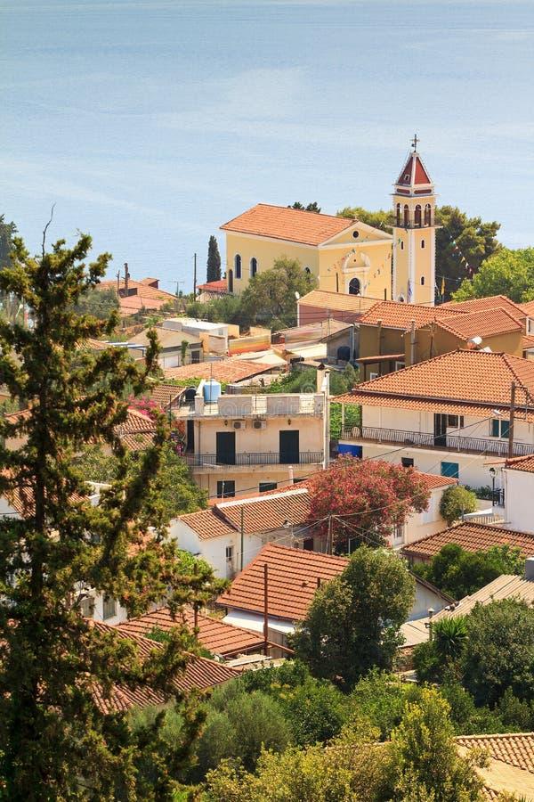 Ville grecque photographie stock