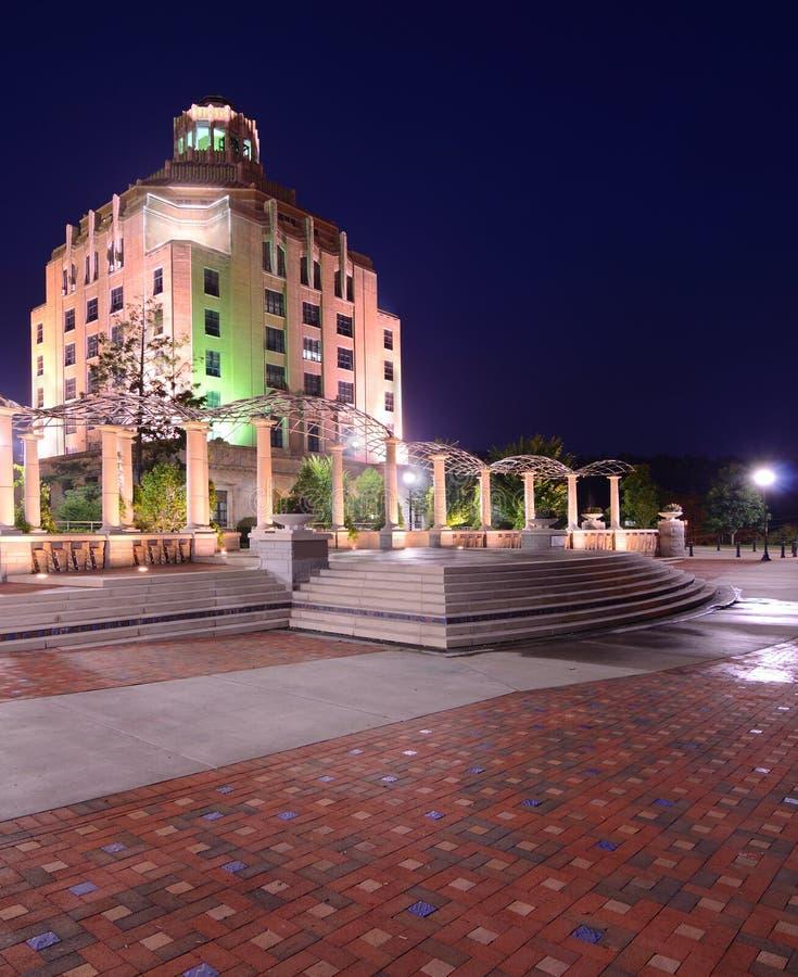 Ville hôtel d'Asheville images libres de droits