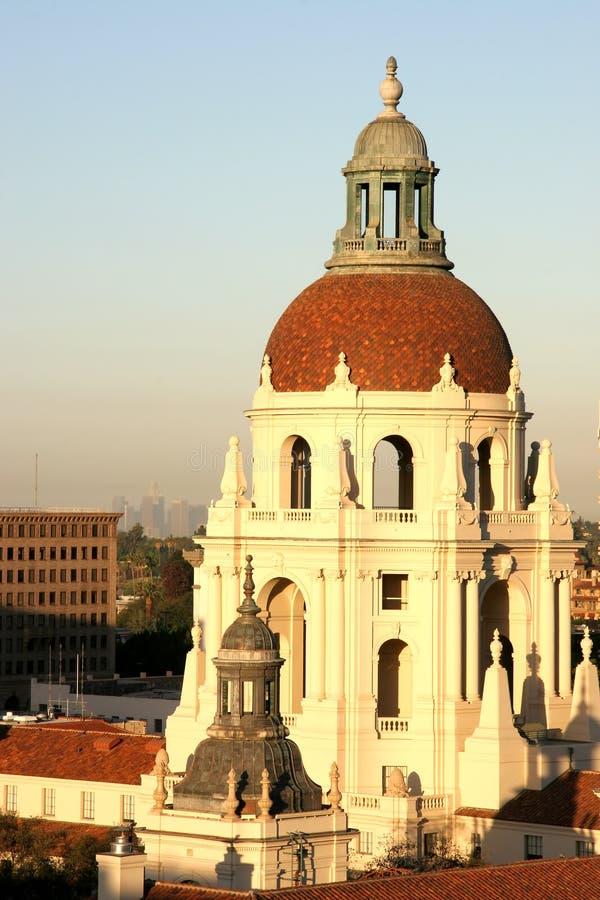 Ville hôtel de Pasadena photos stock