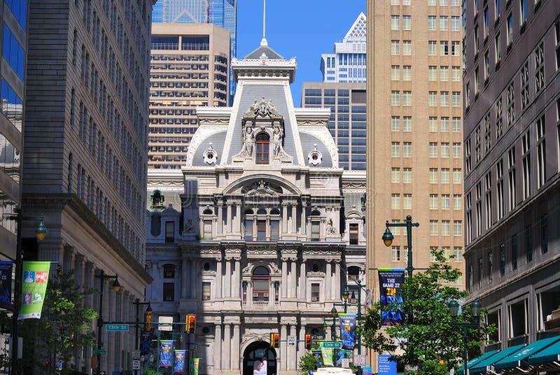 Ville hôtel de Philadelphie images stock