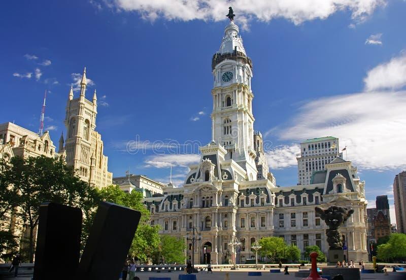 Ville hôtel de Philadelphie image stock