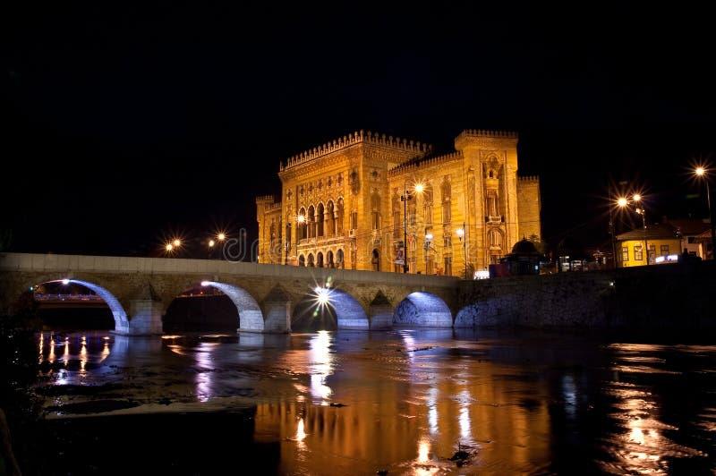 Ville hôtel de Sarajevo photo libre de droits