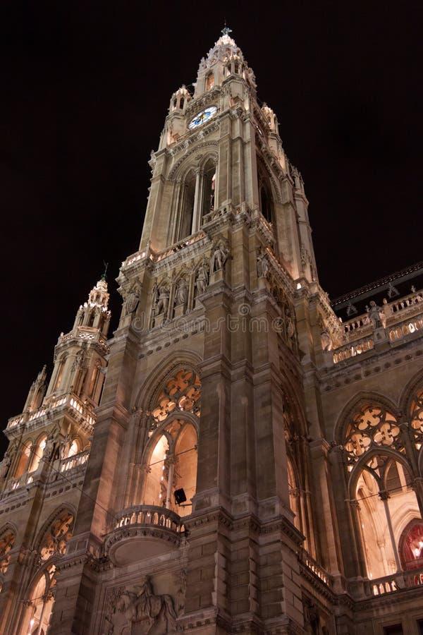 Ville hôtel de Vienne image libre de droits