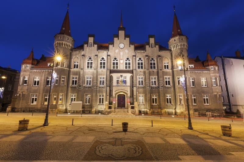Ville hôtel de Walbrzych image stock