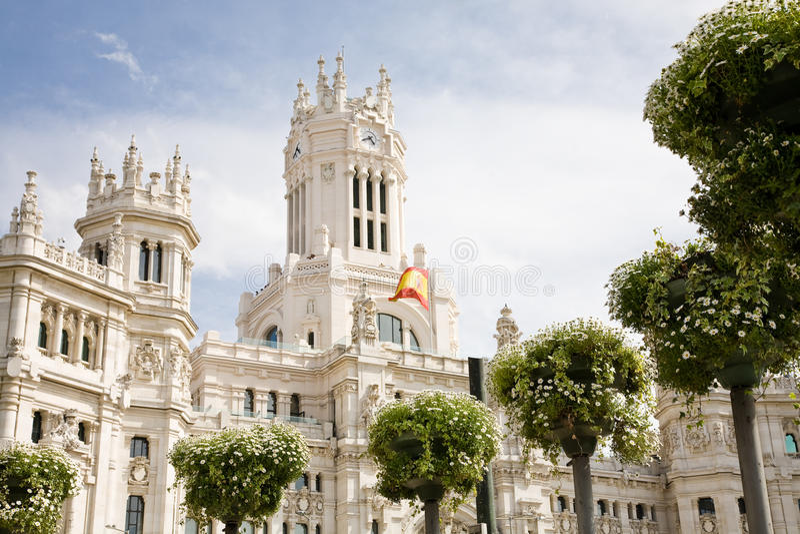 Ville hôtel, Madrid photo stock