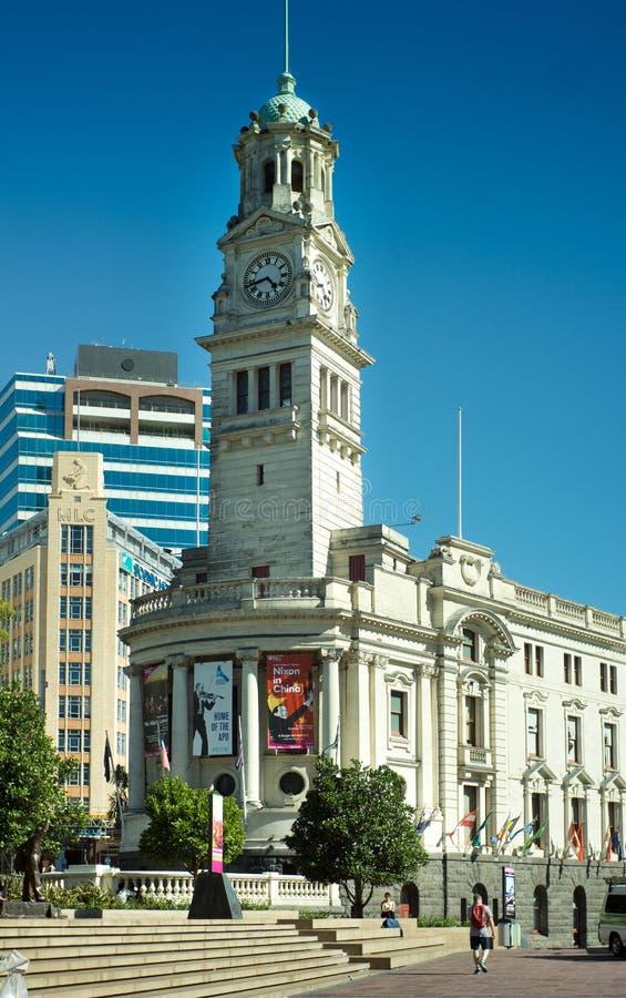 Ville hôtel d'Auckland images stock