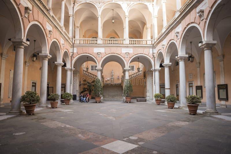 Ville hôtel de Gênes photos libres de droits