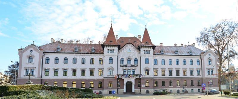Ville hôtel de Lugoj image libre de droits