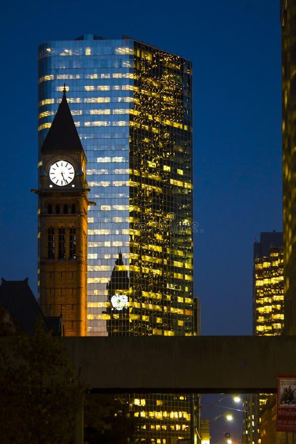 Ville hôtel de Toronto photos stock