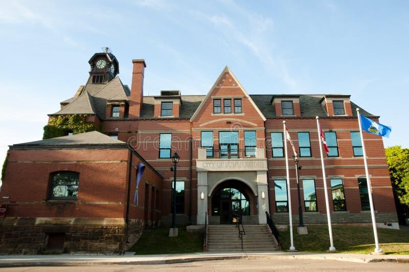 Ville hôtel - prince Edward Island de Summerside - Canada photographie stock libre de droits