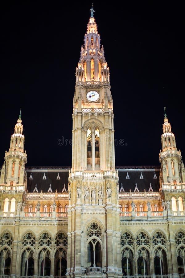 Ville hôtel, saucisse Rathaus, Autriche de Vienne à photos stock