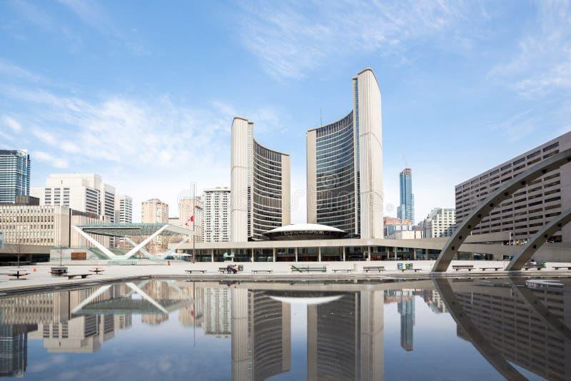 Ville Hall Canada de Toronto photos stock
