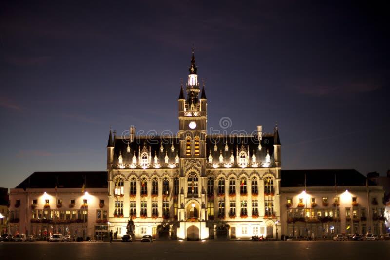 Ville-hall de Sint-Niklaas images stock