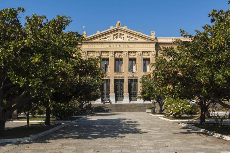 Ville Hall Messina Sicily photo libre de droits
