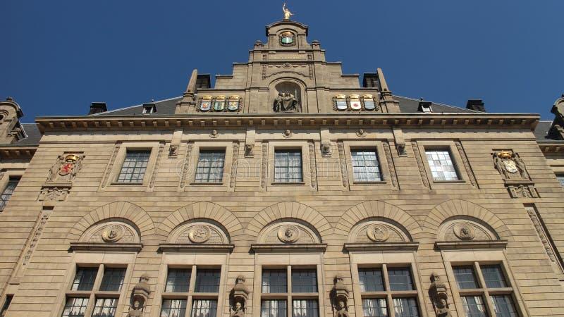 Ville Hall Rotterdam image libre de droits