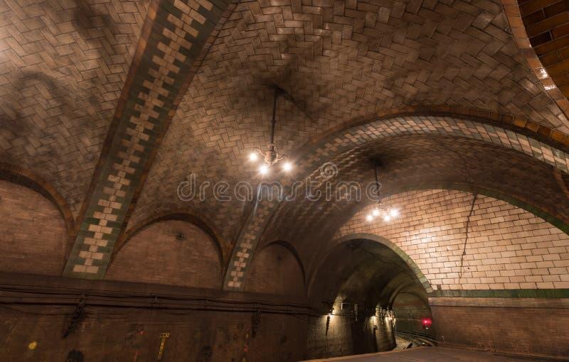 Ville Hall Station - New York City image libre de droits
