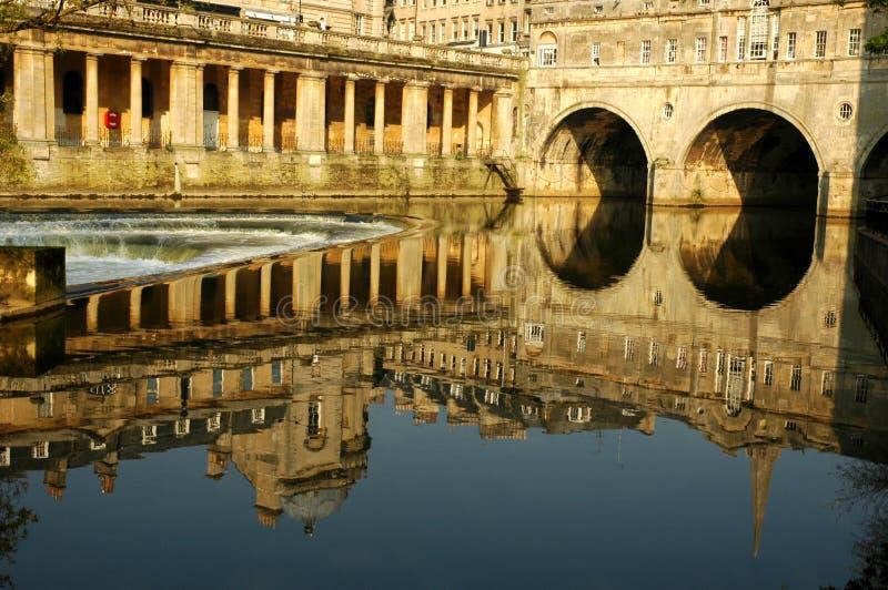 Ville historique de Bath photo libre de droits