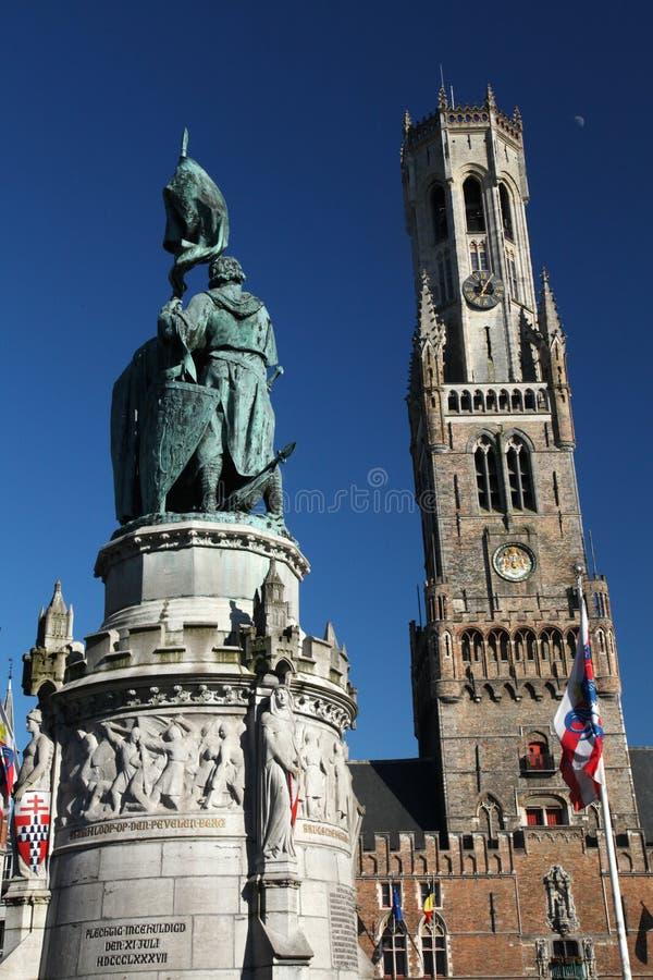 Ville historique de Bruges Belgique photos stock
