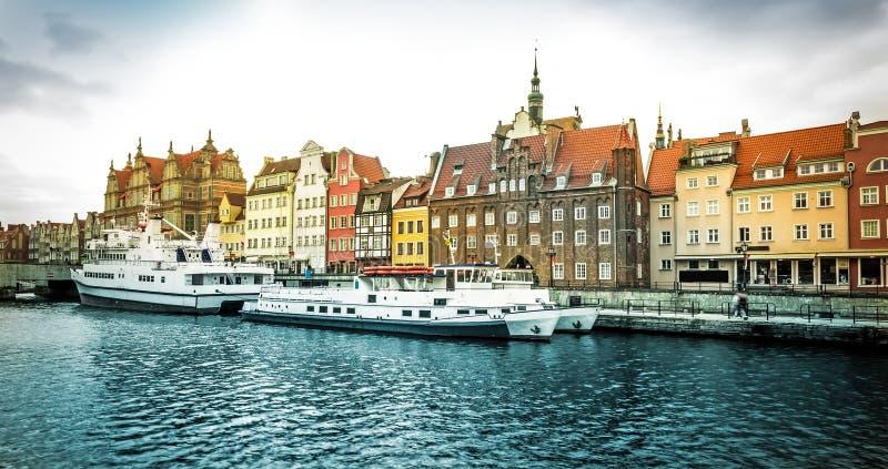 Ville historique de Danzig image libre de droits