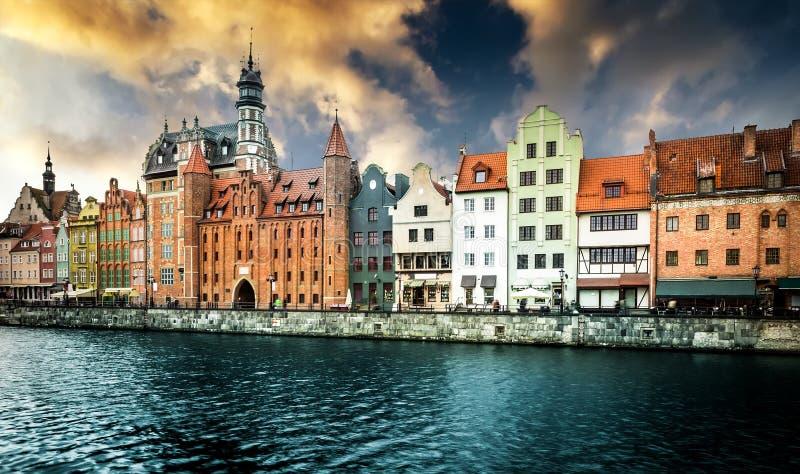 Ville historique de Danzig image stock