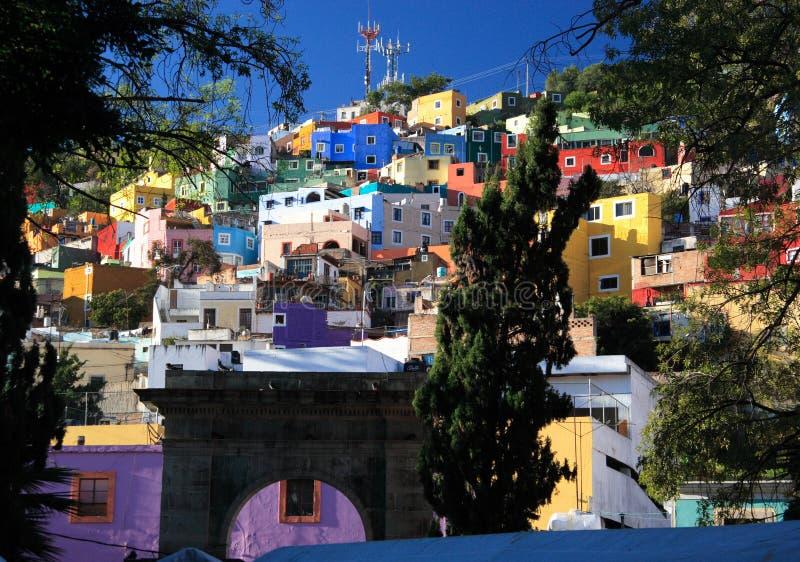 Ville historique de Guanajuato, Mexique images libres de droits