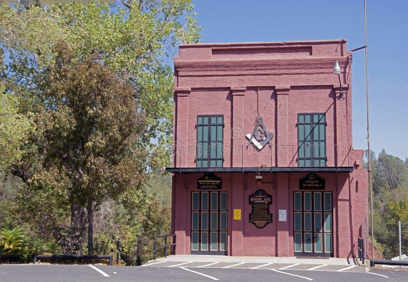 Ville historique de Shasta photographie stock libre de droits