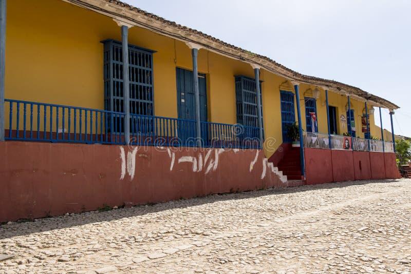 Ville historique du Trinidad, Cuba images stock