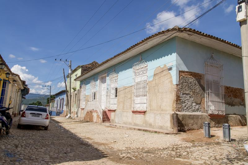Ville historique du Trinidad, Cuba image libre de droits