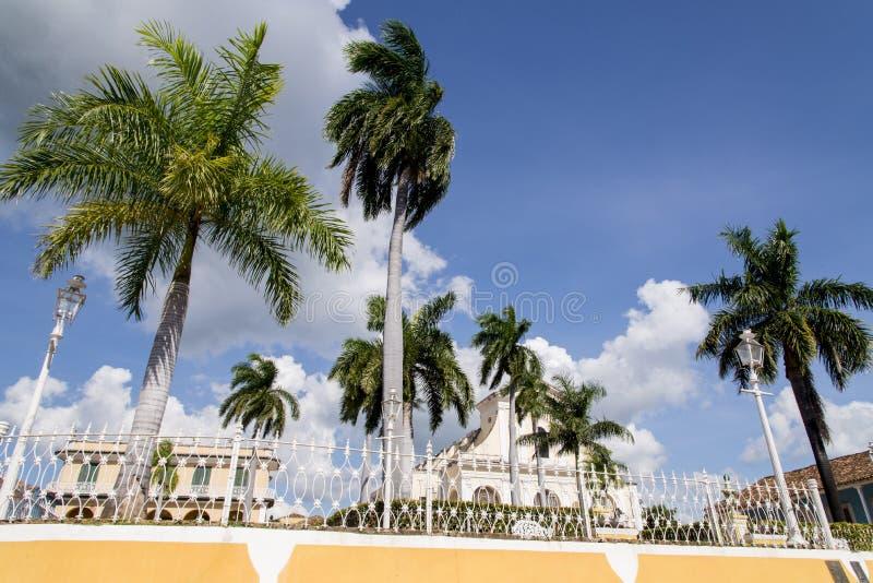 Ville historique du Trinidad, Cuba image stock