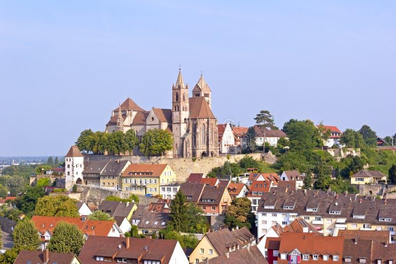 Ville idyllique Breisach image libre de droits