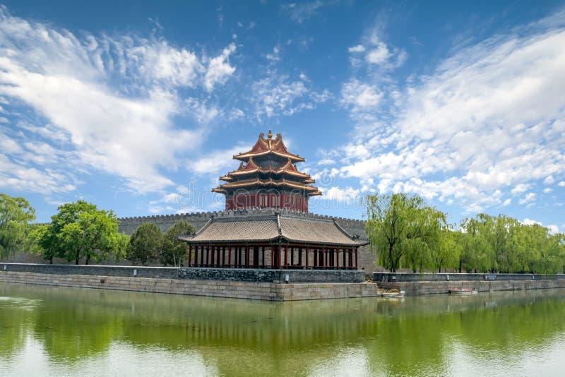 Download Ville Interdite à Pékin, Chine Image stock - Image du exposition, fossé: 76086121