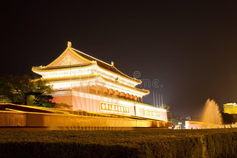 Ville interdite de Pékin images stock