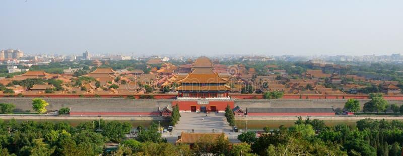 Ville interdite Pékin images stock