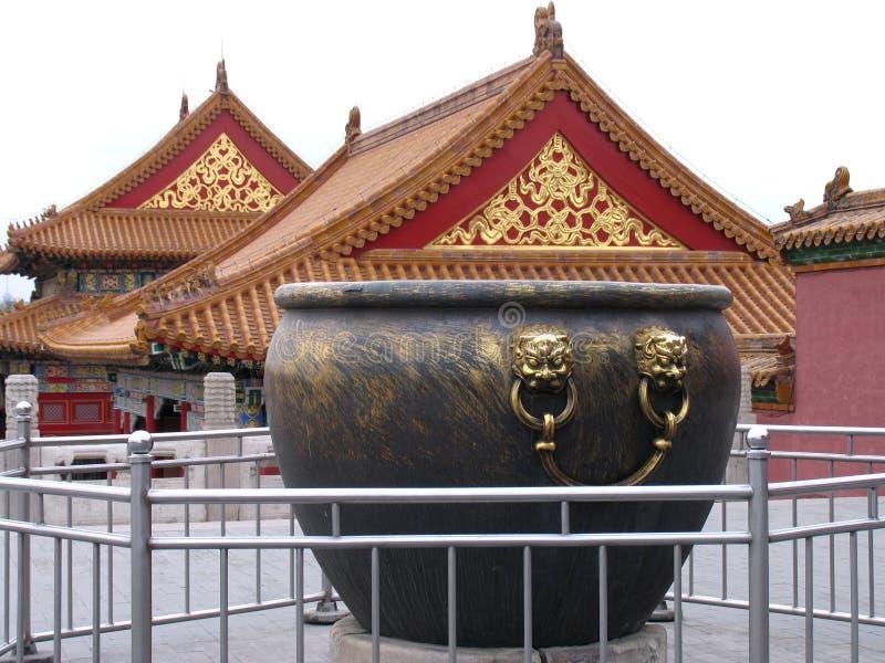 Ville interdite, Pékin image libre de droits