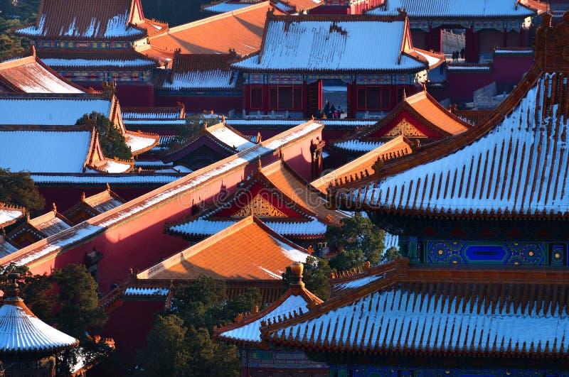 Ville interdite par Pékin photo libre de droits