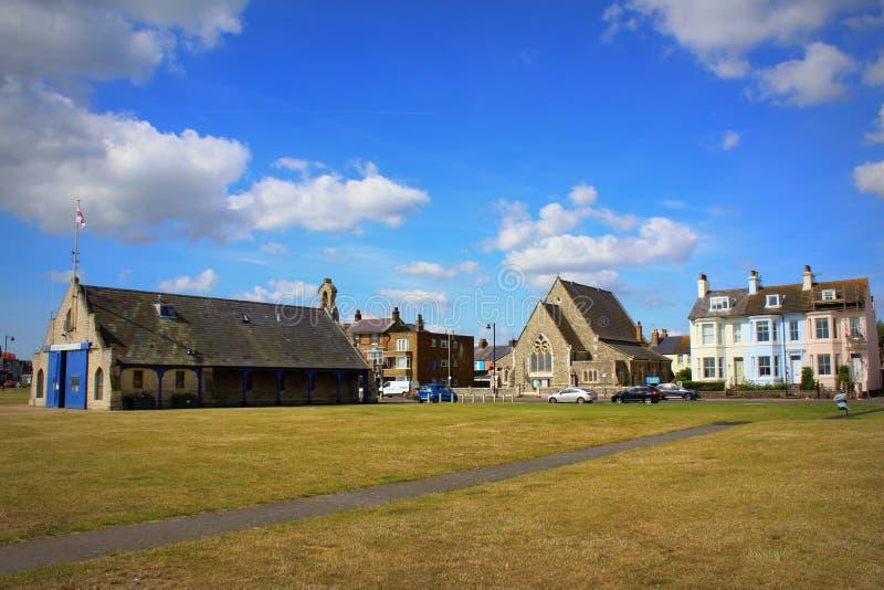 Ville Kent England de Walmer photo libre de droits
