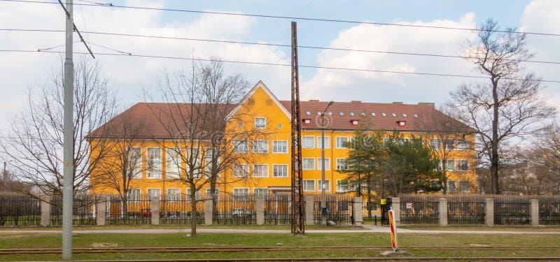 Ville Kopli distric de l'Estonie Tallin photographie stock libre de droits