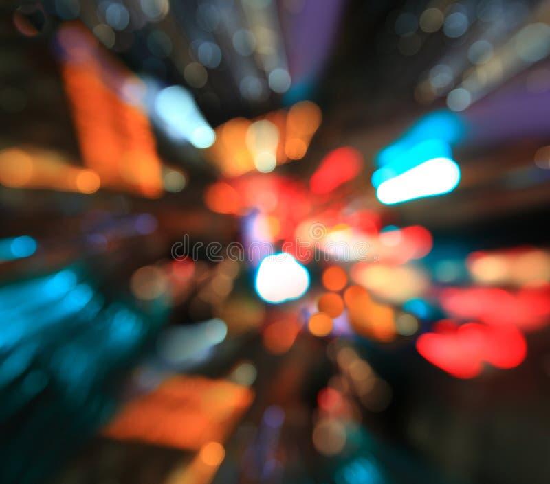 Download Ville La Nuit - Brouillez La Photo, Fond De Bokeh Photo stock - Image du gradient, lumineux: 45358836