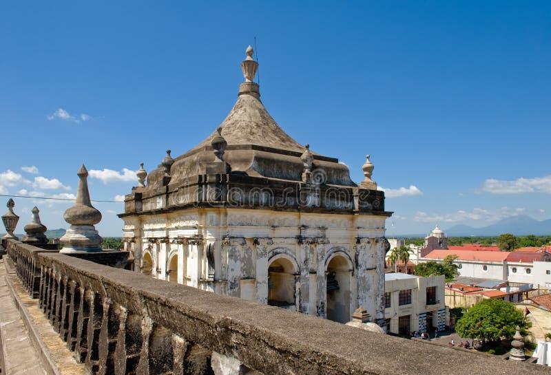 ville leon Nicaragua photo libre de droits