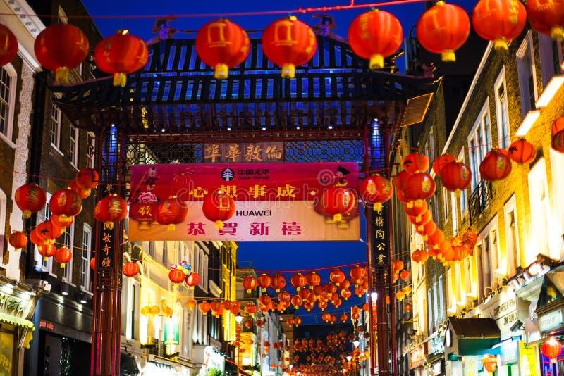 Ville Londres de la Chine photos stock