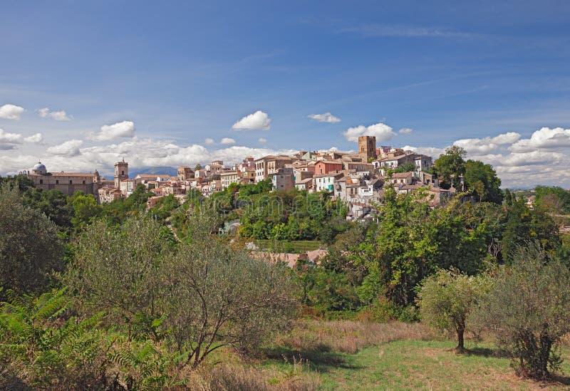 Ville médiévale Lanciano, Abruzzo, Italie images stock