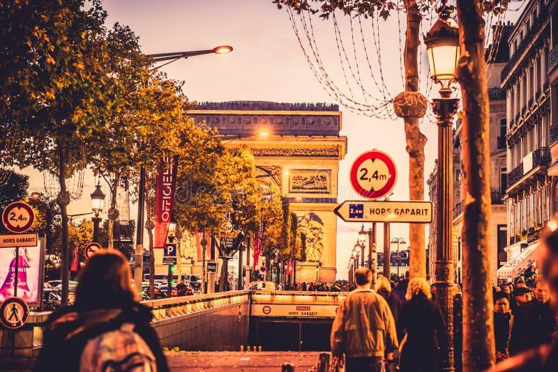 Ville magnifique de Paris photos stock