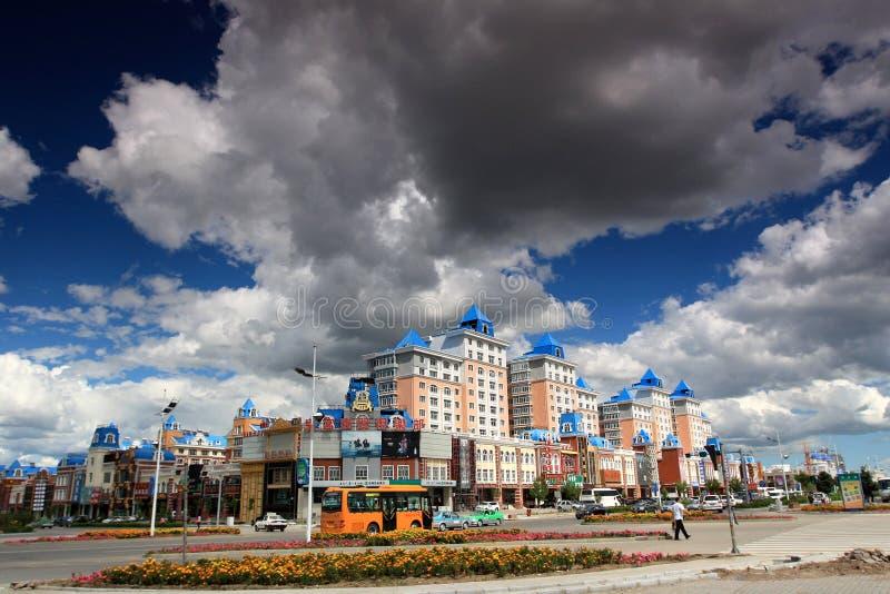 Ville Manzhouli photographie stock libre de droits