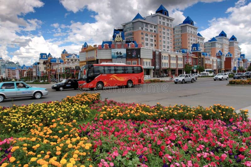 Ville Manzhouli photo libre de droits